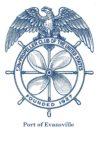 Propeller Club logo for Evansville